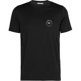 Icebreaker Tech Lite SS Crew Shirt Nomad Forever Men, negro
